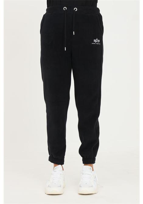 Pantaloni donna nero alpha industries modello casual con elastico in vita ALPHA INDUSTRIES | Pantaloni | 11807003