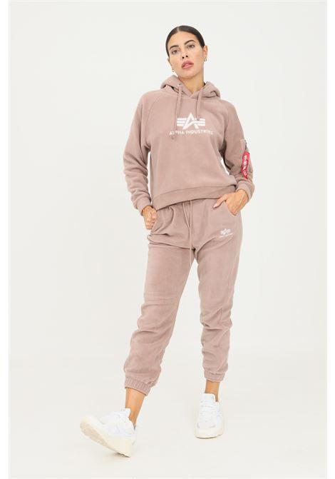 Pantaloni donna terra alpha industries modello casual con elastico in vita ALPHA INDUSTRIES | Pantaloni | 118070416