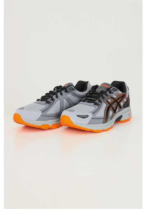 Grey men's gel venture 6 sneakers by asics with fabric inserts ASICS | Sneakers | 1201A366-022022