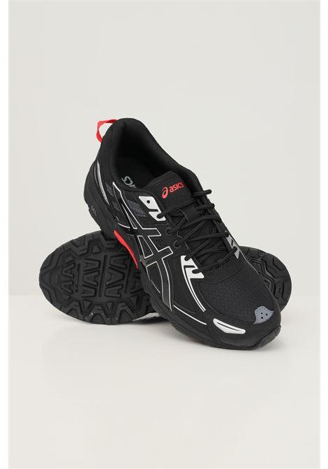 Black men's gel venture 6 racing sneakers by asics ASICS | Sneakers | 1201A366001