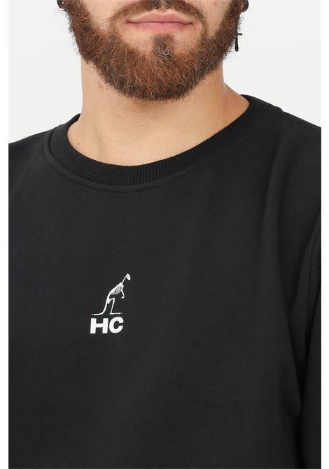 Felpa uomo nero australian girocollo AUSTRALIAN | Felpe | HCUFE0035003