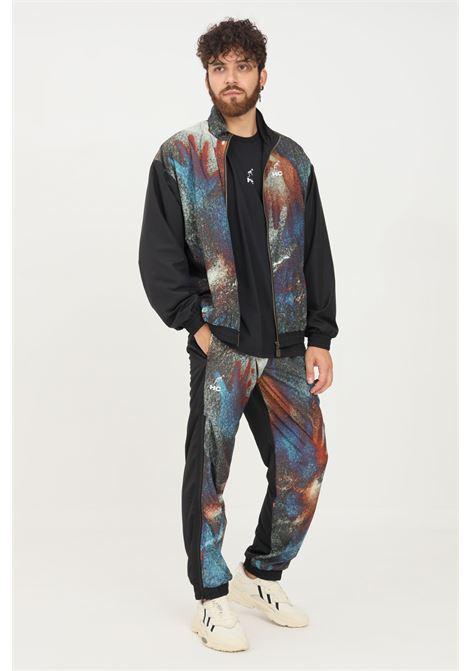Pantaloni uomo nero australian modello casual con zip lungo le gambe AUSTRALIAN | Pantaloni | HCUPA0018003