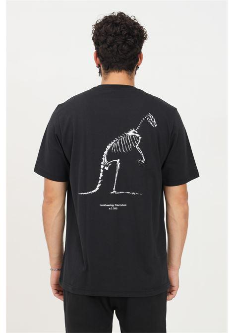 T-shirt uomo nero australian a manica corta con maxi stampa sul retro AUSTRALIAN | T-shirt | HCUTS0036003