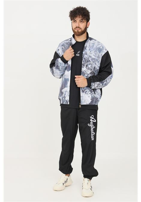 Tuta uomo australian modello casual felpa e pantaloni con stampa AUSTRALIAN | Tute | SPUTU0003461 V.004
