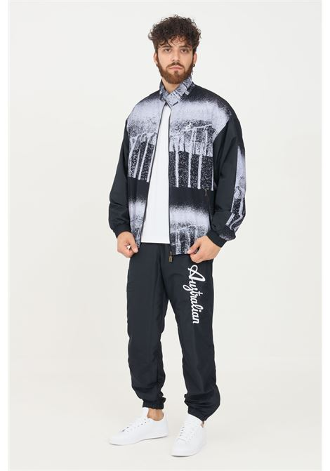 Tuta uomo australian modello casual felpa e pantaloni con stampa AUSTRALIAN | Tute | SPUTU000382-01 V.001
