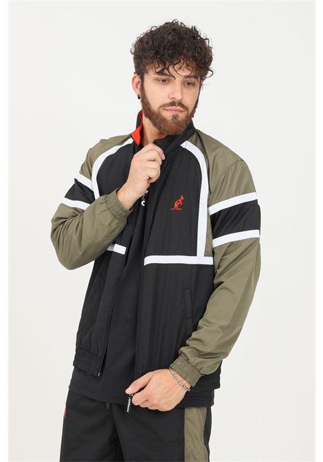Felpa uomo verde australian con zip frontale AUSTRALIAN | Felpe | SWUGC0010003