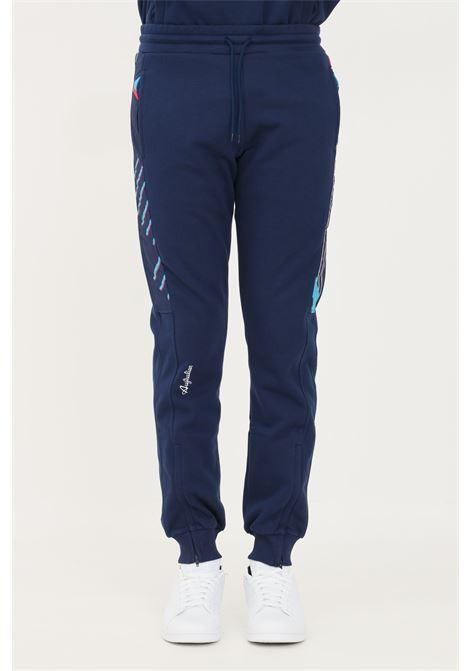 Pantaloni uomo blu australian con coulisse in vita AUSTRALIAN | Pantaloni | SWUPA0042842