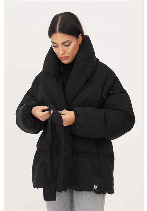 Piumino dada donna nero bacon con collo scialle BACON | Giubbotti | DADA78AMEDEO615