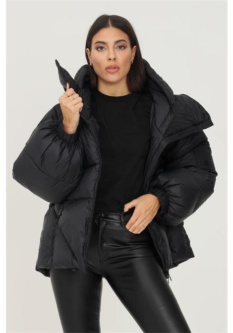 Piumino double superwalt da donna nero bacon con cappuccio BACON | Giubbotti | DOUBLEBSWALT05