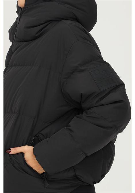 Piumino da donna nero bacon con cappuccio e zip frontale BACON | Giubbotti | NEWCLOUDGIADA13