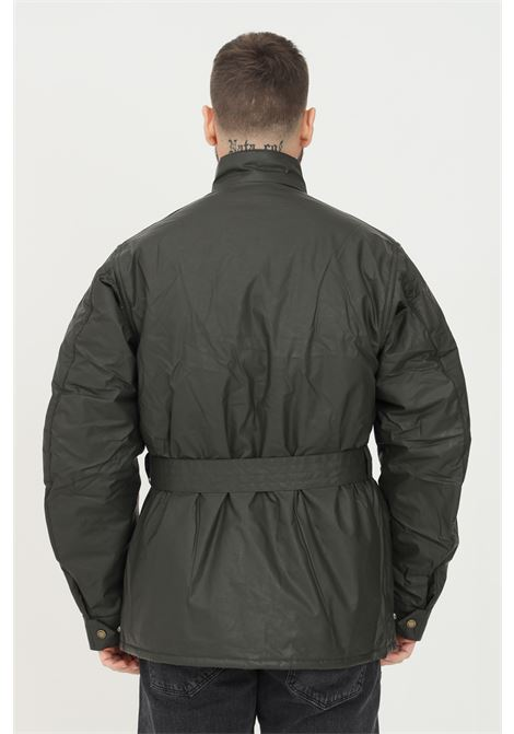 Giubbotto uomo verde barbour con cintura in vita BARbour INTERNATIONAL | Giubbotti | 212-MCA0748 MCAOL71