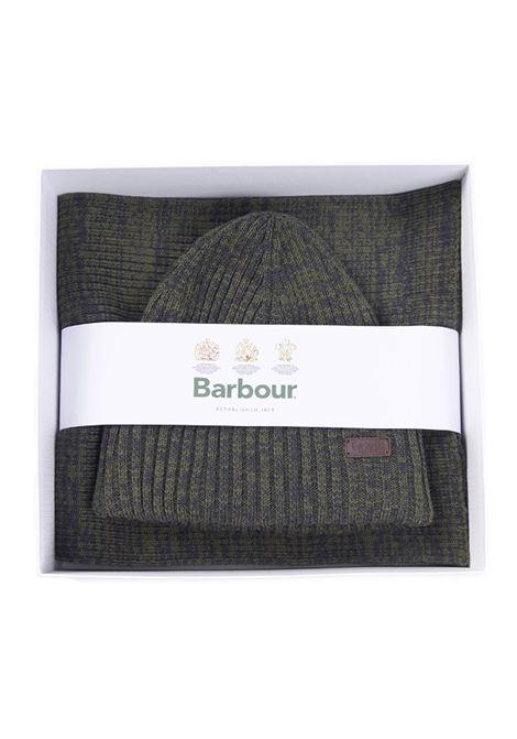 Set uomo cappello e sciarpa verde barbour BARbour | Set | 212-MGS0019 MGSOL71