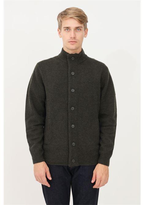 Green men's cardigan by barbour with zip BARbour | Cardigan | 212-MKN0731 MKNGN73