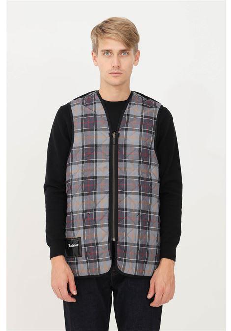 Black men's jacket by barbour with zip sleeveless model BARbour | Jacket | 212-MLI0001 MLIBK91