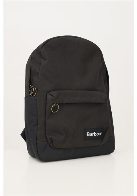 Black unisex highfield canvas backpack by barbour BARbour | Backpack | 212-UBA0421 UBATN11
