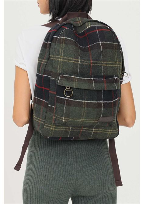 Unisex backpack by barbour with tartan effect print BARbour | Backpack | 212-UBA0574 UBANY91