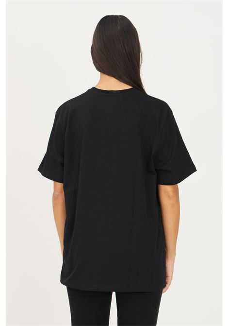 Black unisex t-shirt by bhmg with contrasting print on the front, short sleeve BHMG | T-shirt | 031272094