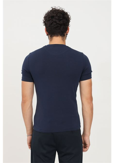 T-shirt uomo blu bikkembergs a manica corta BIKKEMBERGS | T-shirt | C412002E2298Y91