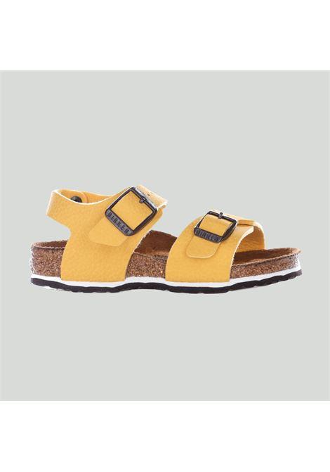 Sandali bambino unisex giallo birkenstock con cinturino regolabile BIRKENSTOCK | Sandali | 1015758DESERT