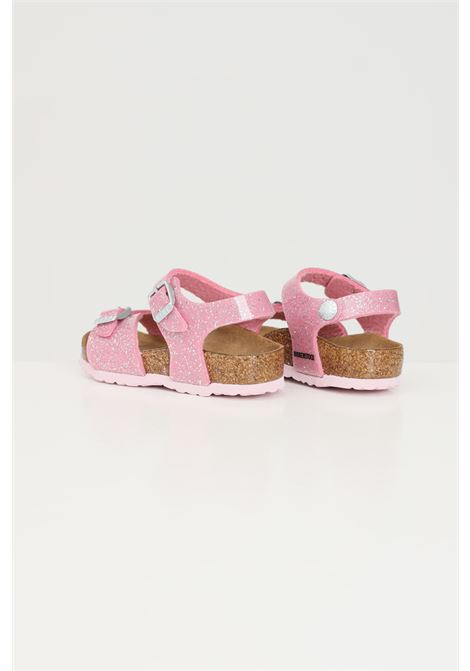 Pink baby rio plain cosmic sparkle sandals. Birkenstock BIRKENSTOCK | Sandal | 1018991.