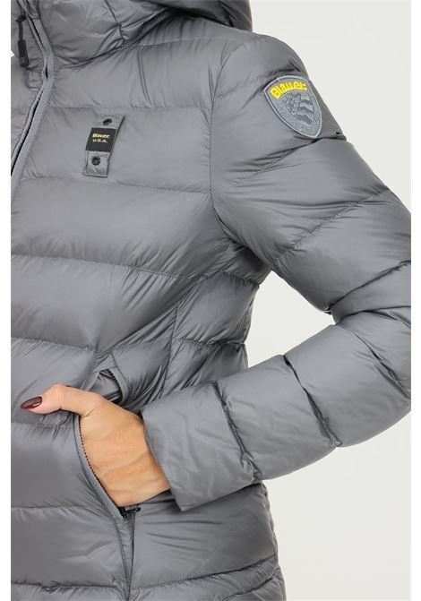 Grey women's bomber by blauer  BLAUER   Jacket   21WBLDC03073A05050924AM