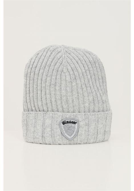 Cappello unisex grigio blauer con patch logo BLAUER | Cappelli | 21WBLUA05388006127M91
