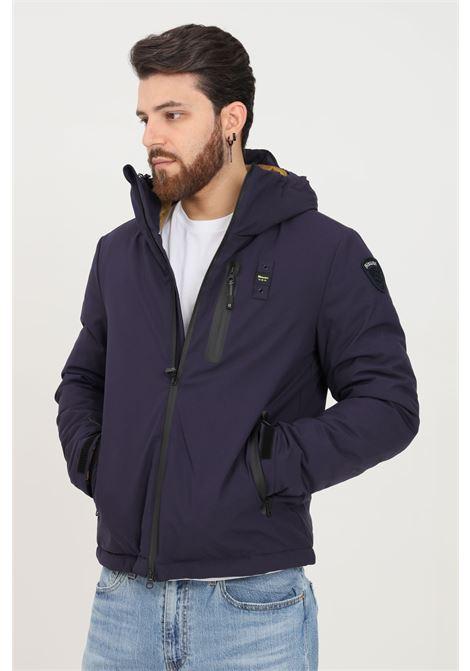 Giubbotto uomo viola blauer con cappuccio BLAUER | Giubbotti | 21WBLUC02034006054795