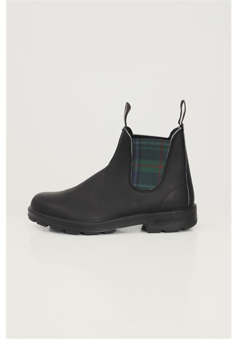 Black men's coloured elastic sided boot ankle boots by blundstone BluNDSTONE | Ankle boots | 212-1614BC1614