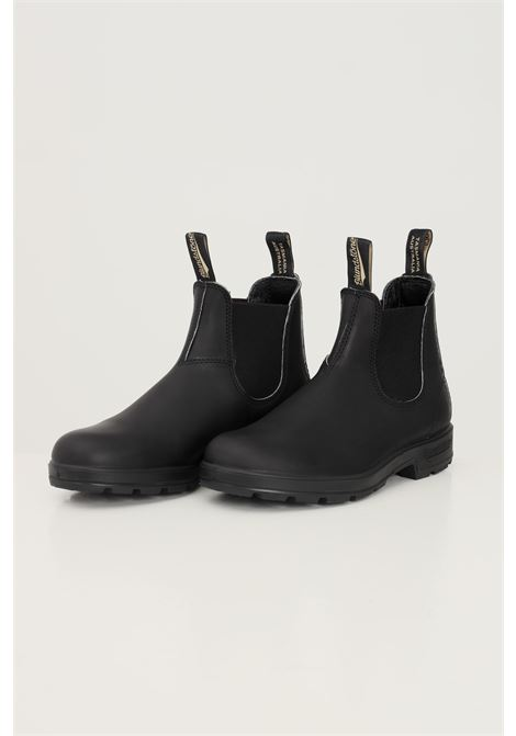 Black unisex elastic sided boot ankle boot by blundstone BluNDSTONE | Ankle boots | 212-510BC510