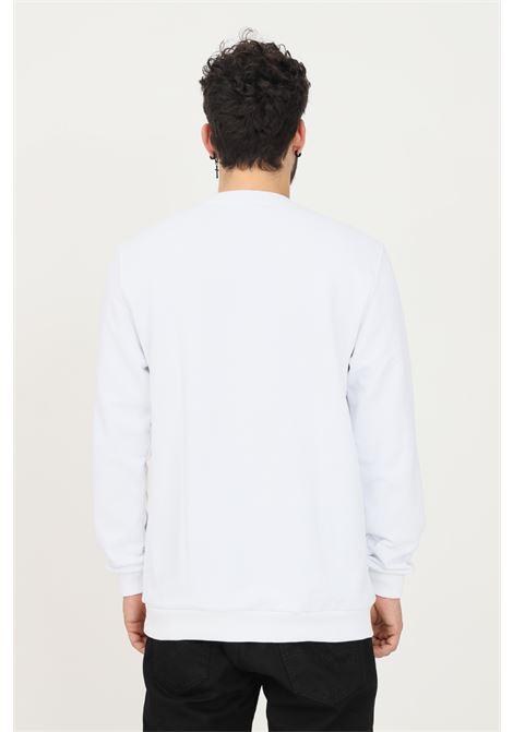 Felpa uomo bianco but not con logo frontale catarifrangente BUT NOT | Felpe | U909-359bianco