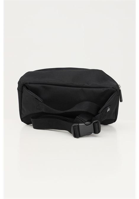 Black unisex pouch by calvin klein with adjustable closure CALVIN KLEIN | Pouch | K50K506941BDS