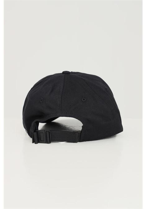 Black unisex cap by calvin klein with front logo CALVIN KLEIN | Hat | K50K507050BDS