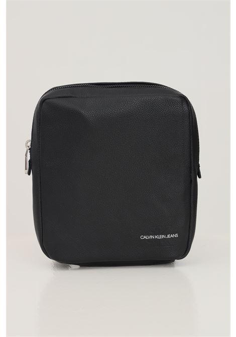 Black men's shoulder bag by calvin klein  CALVIN KLEIN | Bag | K50K507216BDS