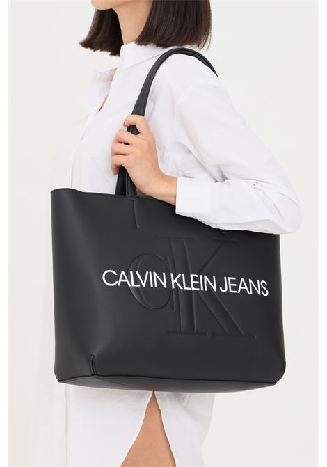 Black women's shopper by calvin klein  CALVIN KLEIN | Bag | K60K607200BDS