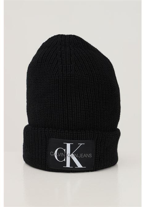 Black unisex hat by calvin klein CALVIN KLEIN | Hat | K60K607383BDS