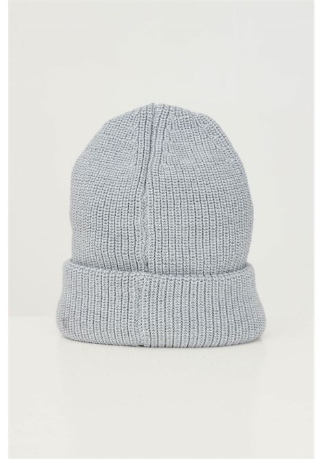 Grey unisex hat by calvin klein with fabric logo application CALVIN KLEIN | Hat | K60K607383PS8