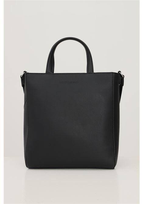 Black women's shopper by calvin klein soft model with shoulder strap CALVIN KLEIN | Bag | K60K608221BDS