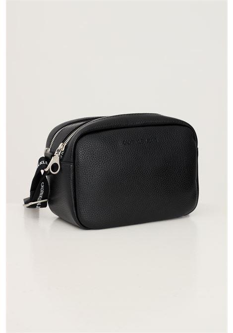 Black women's bag by calvin klein jeans soft model with shoulder bag CALVIN KLEIN | Bag | K60K608233BDS