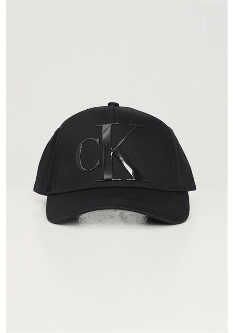 Black unisex cap by calvin klein CALVIN KLEIN | Hat | K60K608276BDS