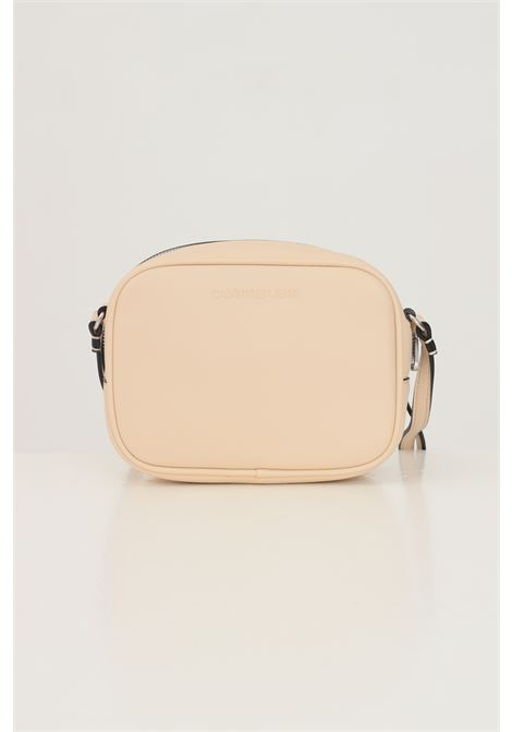 Pink women's bag by calvin klein with shoulder strap CALVIN KLEIN | Bag | K60K608373AEO