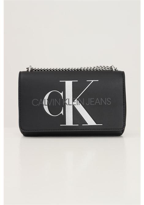 Black women's bag by calvin klein with shoulder strap CALVIN KLEIN | Bag | K60K608379BDS