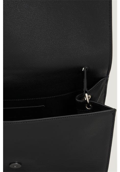 Black women's bag by calvin klein with gold logo on the front CALVIN KLEIN | Bag | K60K608386BDS