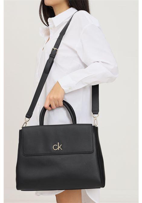 Black women's bag by calvin klein with removable and adjustable shoulder strap CALVIN KLEIN | Bag | K60K608411BAX