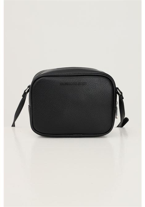 Black women's bag by calvin klein with shoulder strap CALVIN KLEIN | Bag | K60K608561BDS