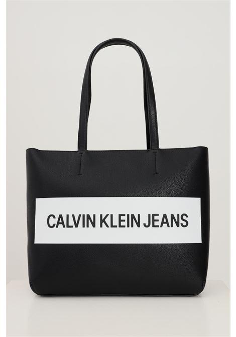 Black women's shopper by calvin klein soft model CALVIN KLEIN | Bag | K60K608563BDS