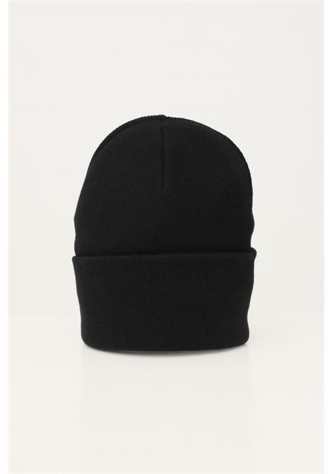 Cappello uomo nero carhartt con patch logo frontale a contrasto CARHARTT | Cappelli | I020044.0689.XX
