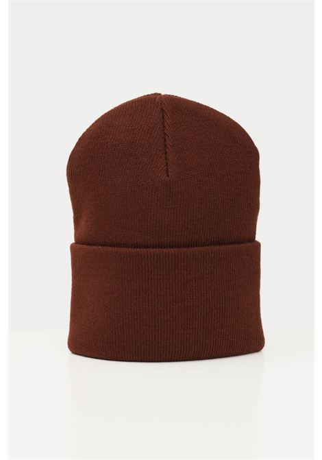 Brown unisex cap by carhartt with front logo CARHARTT | Hat | I020222.060EG.XX