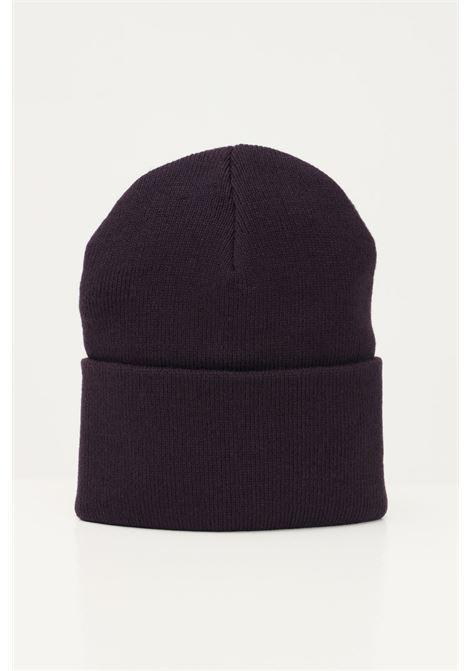 Purple unisex cap by carhartt with front logo CARHARTT | Hat | I020222.060EO.XX