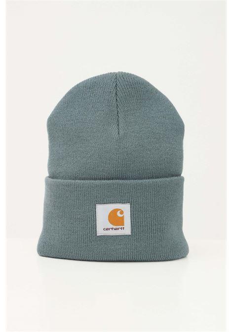 Green unisex cap by carhartt with front logo CARHARTT | Hat | I020222.060ER.XX