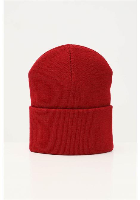 Bordeaux unisex cap by carhartt with front logo CARHARTT | Hat | I020222.060EU.XX